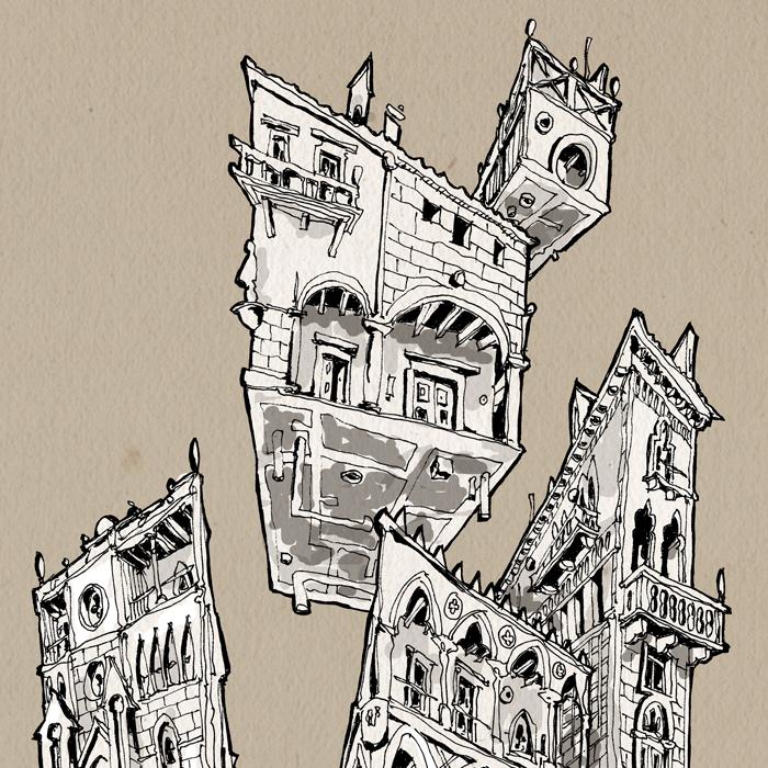 Gothic gravitation